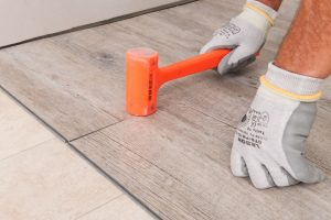 Instalación piso vinilico